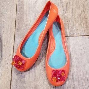 OKA b. Love orange jellies ballet flats 39/9